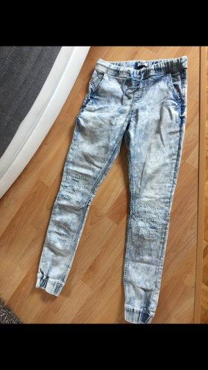 Drainpipe Trousers azure