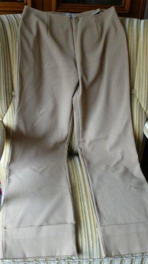 Damen Hose Elegant Leicht Business Gr.M In Beige Mit Umschlag von Autentic Style