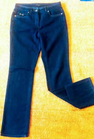 Taifun Stretch Jeans anthracite-dark blue cotton