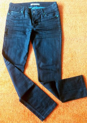 Damen Hose Jeans Stretch Gr.40 in Blau von Mustang Indiana 581