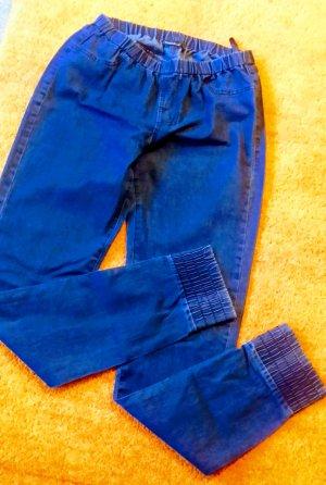 Damen Hose Jeans Stretch schlupfhose Gr.M in Blau von Boule NW