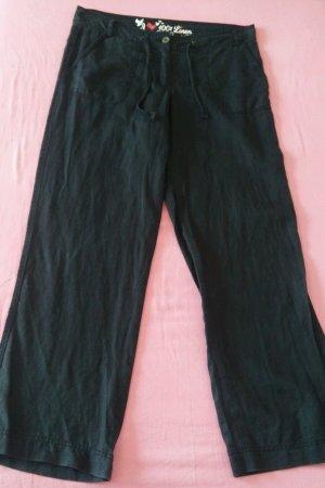 Damen Hose Leinen leichte Hose von ATMOSPHERE Gr.38 UK.12 in Schwarz Wunderschön
