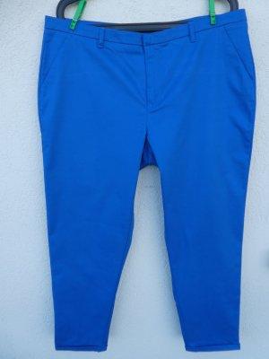 Damen-Hose, royalblau - Gebraucht