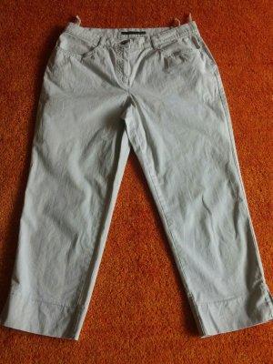 Capris light grey cotton