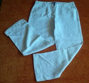 Damen Hose Sommer Leinen leicht Gr.42 in Weiß von Gardeur NW