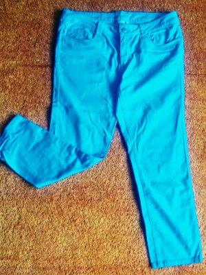 Jeans elasticizzati azzurro Cotone