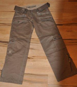 Marc O'Polo Cargo Pants ocher cotton