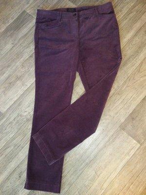 Gerry Weber Pantalón de cinco bolsillos lila