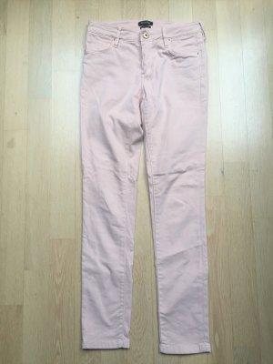Massimo Dutti Pantalone cinque tasche rosa antico-rosa pallido Cotone