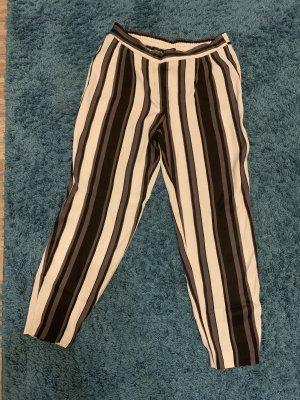 Zara Basic Capribroek zwart-wit
