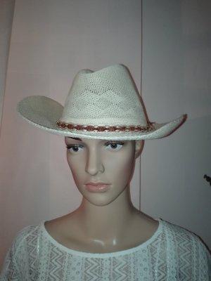 Damen Hut in Crem -Weiß Farbe