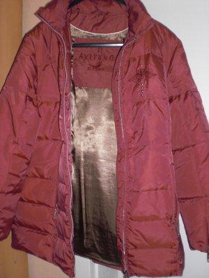 Avitano Down Jacket dark red polyester