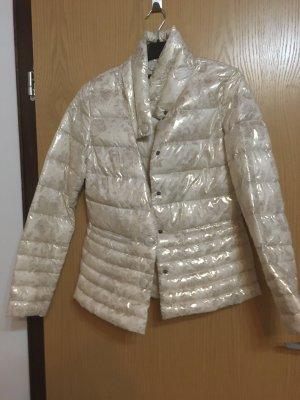 Damen Jacke beige Gold