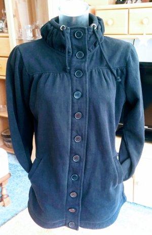 Damen Jacke Designer Jersey Long Gr.40 in Schwarz von Gina