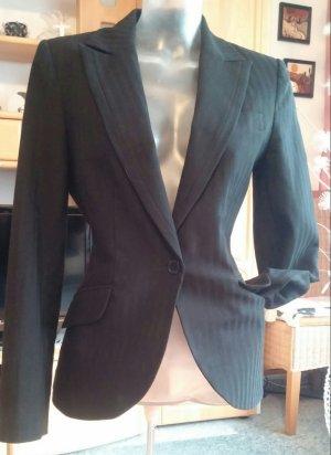 Damen Jacke Eleganter Business Blazer Gr.36 in Schwarz von H&M