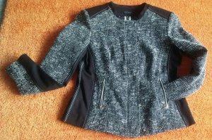 Damen Jacke Eleganter melierter Kurz-Blazer Gr.38 von Apanage NW