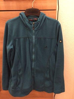 Damen Jacke Fleecejacke OCK Gr. 42 türkis/petrol