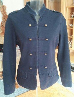 Damen Jacke im Military-Stil Gr42 in Blau von Favourite Basics