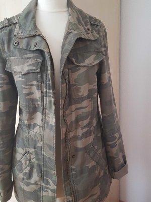 Damen Jacke in Mimitär Muster
