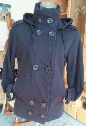 Damen Jacke Jersey Kapuzen Sweat Gr.M in Blau von Orsay