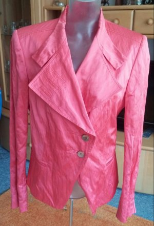 Damen Jacke Kurzblazer Gr. 40 in Pastel Orange von Tuzzi NW