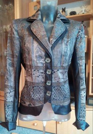 Damen Jacke Lagenlook Design Edel Blazer Gr.38 in Bunt von Kirsten NW