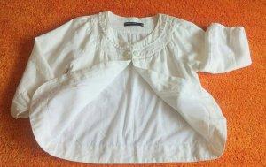 Damen Jacke Leinen Bolero Gr.36 in Weiß von soyaconcept