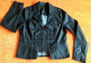 Military Jacket black cotton