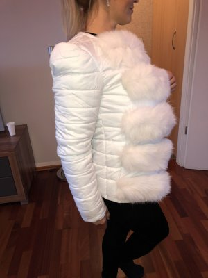 Damen Jacke mit echt Pelz