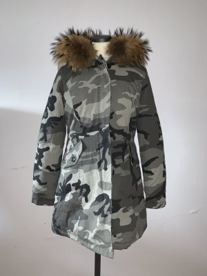 Damen Jacke mit Echtfell