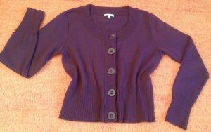 Damen Jacke strick Cardigan Gr. 38 in dunkel Lila von Kenny S.NW
