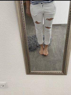 Replay Jeans boyfriend bianco