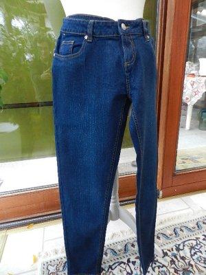 * Damen Jeans Blau - Gr. 44 - gerades Bein - Neu *