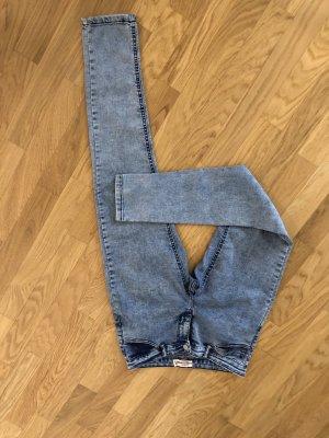Damen Jeans blau skinny