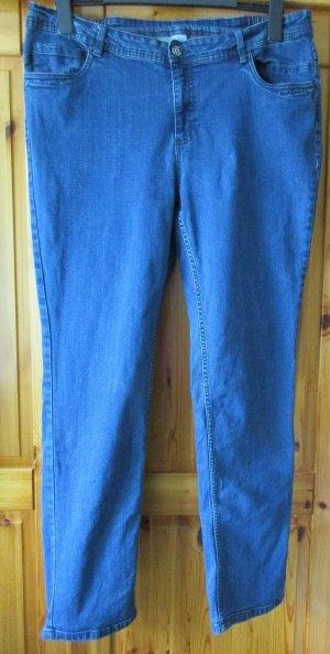 Stretch Jeans dark blue mixture fibre