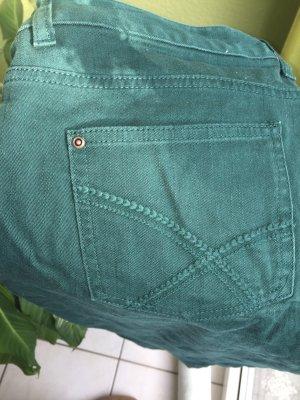 Damen Jeans - dunkelgrün Gr 42