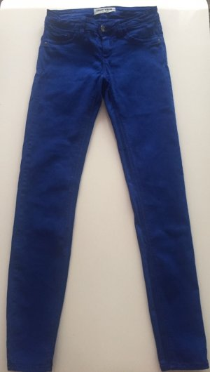 damen jeans gr.34 in royalblau