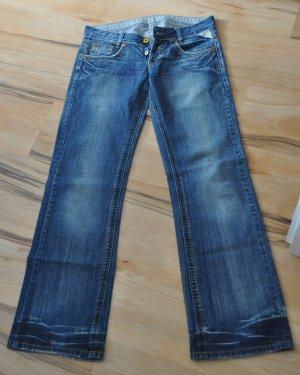 Replay Jeans svasati blu Cotone