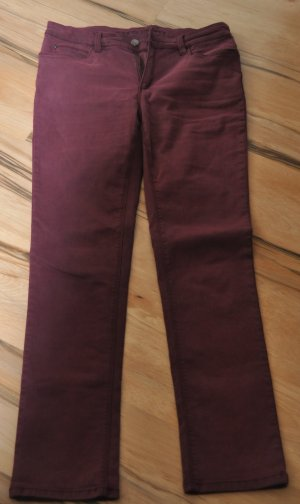 Jeans svasati viola Cotone