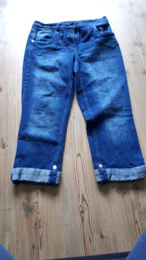 bpc Stretch jeans blauw Katoen