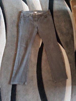Damen Jeans grau