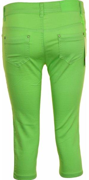 Pantalon 7/8 multicolore tissu mixte