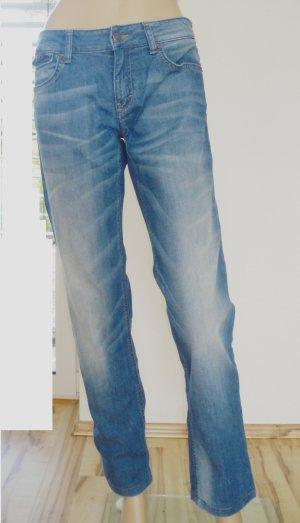 Drykorn Pantalone cinque tasche blu