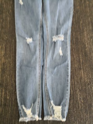 Pantalone fitness azzurro