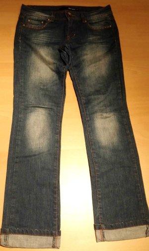 Damen Jeans Hose Wunderschön Leicht Gr. 36 in Blau Jeans von Tally Weijl TOP