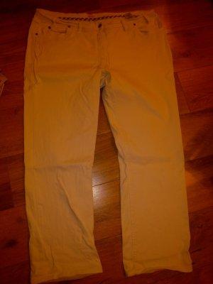 b.p.c. Bonprix Collection Stretch broek veelkleurig Katoen