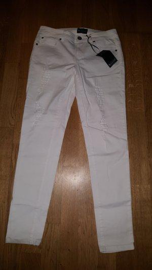 Damen Jeans in Destroyed Look Gr. 36