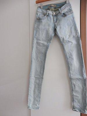 Jeans bleu azur