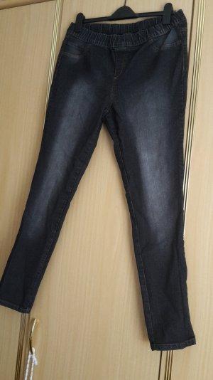 Damen Jeans Jegging schwarz