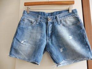 Damen Jeans Shorts Blue